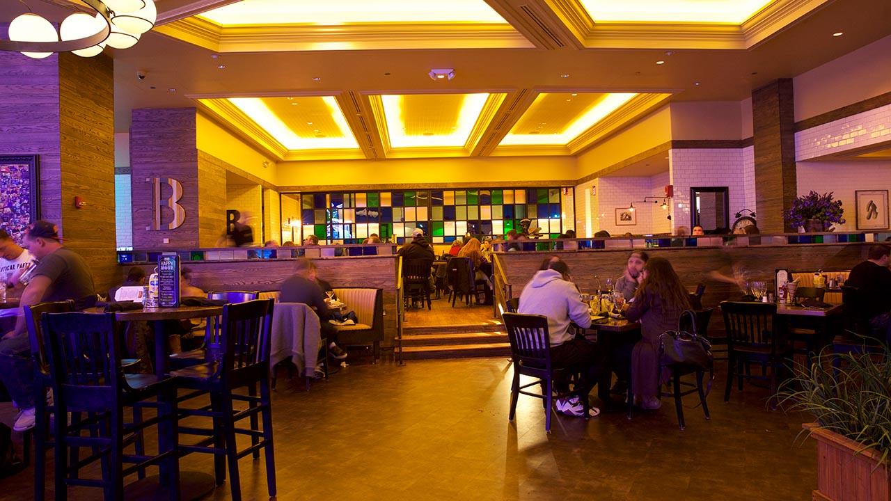 broadway burger bar interior